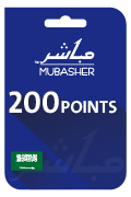 Mubasher Points Card - 200 Points
