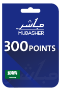 Mubasher Points Card - 300 Points